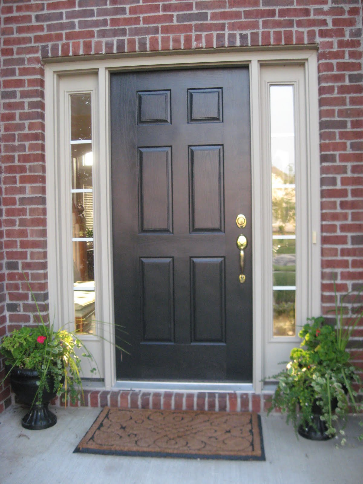 Best Paint For Front Door Stunning With Front Door with Side Lights Pictures