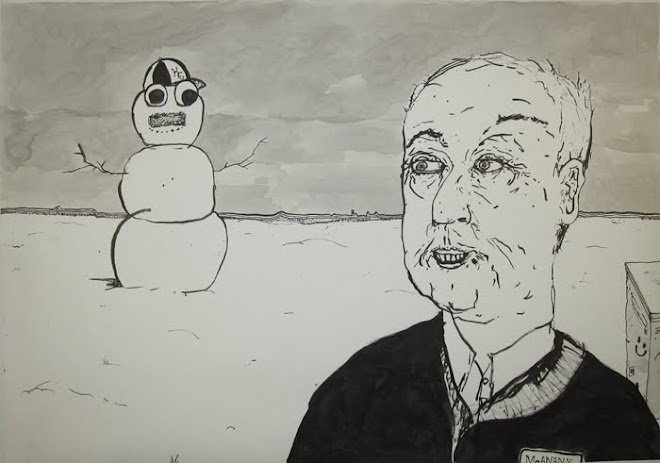 """Snowman in the Desert"""