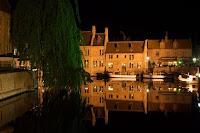 Brugge at Night, a photograph