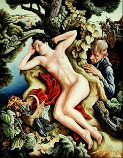 Persephone by Thomas Hart Benton, 1939