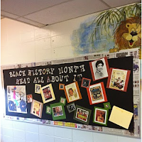 St Elmo School Black History Month Poster