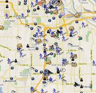 The Pacific Northwest Crime Maps | SpotCrime - The Public\'s ...