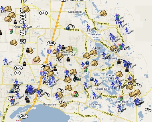 SpotCrime.com Crime Mapping: Vroom Vroom Volusia County, FL is Mapped!