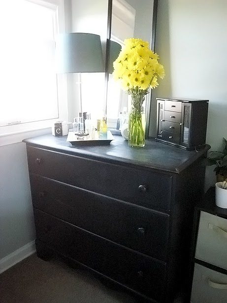 This Fresh Fossil Master Bedroom Refinished Dresser Before And After Full Reveal
