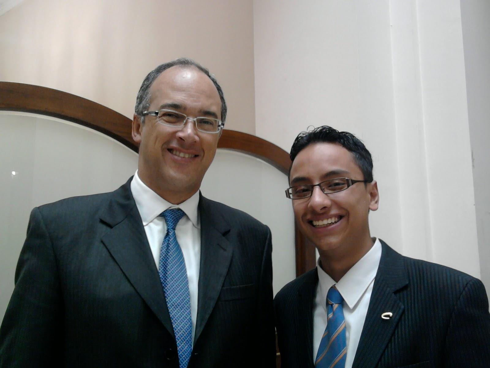 Miguel Angel Olarte, JuventudEs por la PAZ