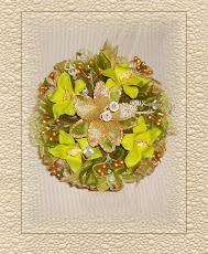 Ramo de Orquideas Verdes