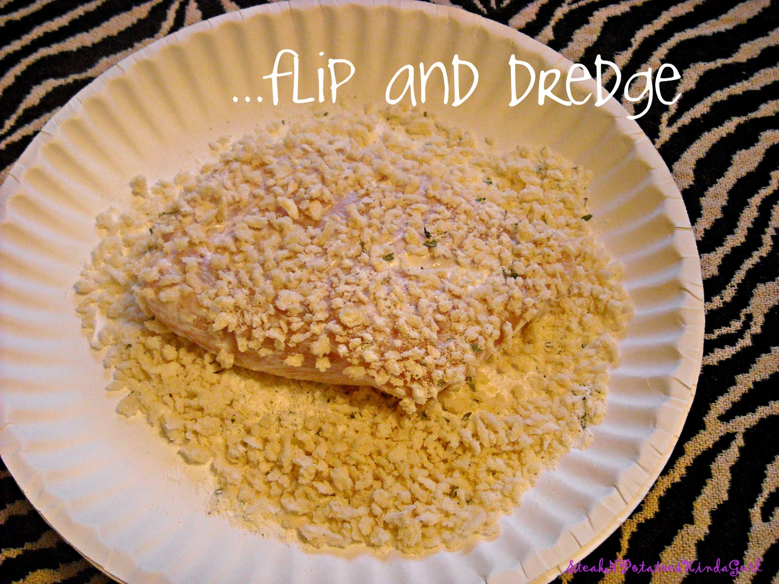 how to make bread crumbs crispy on chicken