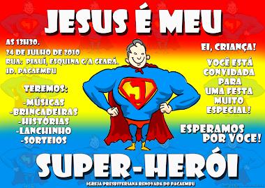 Jesus é Meu Super Herói