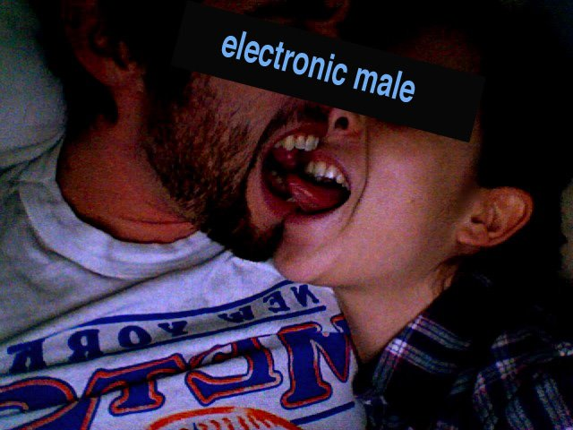 electronic male