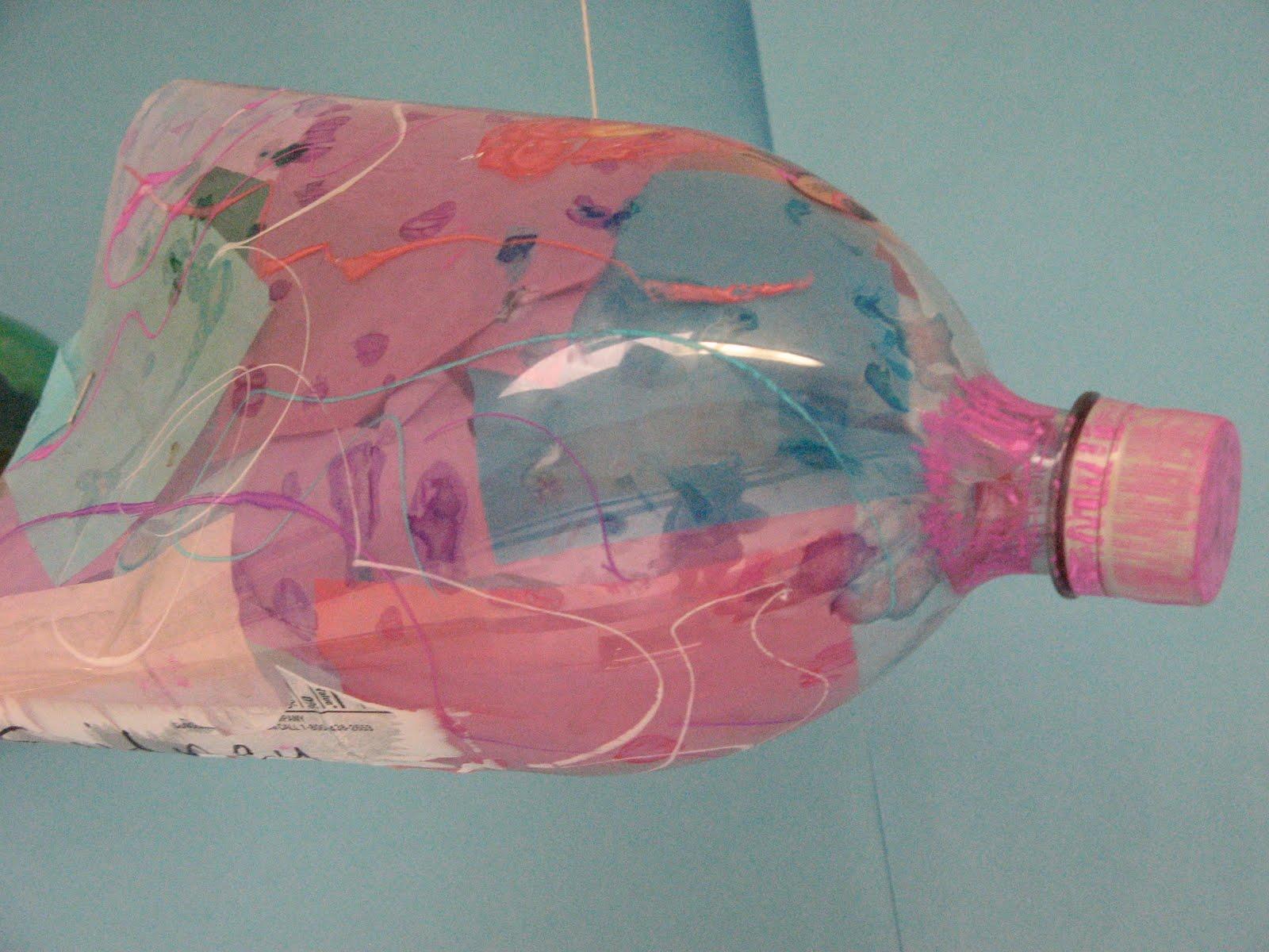 we used 2 liter bottles to
