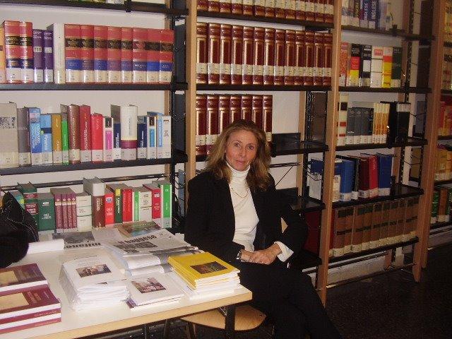 Silvia Maderna alla presentazione del libro di suo papà I Rac. della Normanna