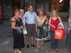 Ketti BOSCO e le Poetesse di ACR con il CONSIGLIERE di Zona 7 Federico LEONE!