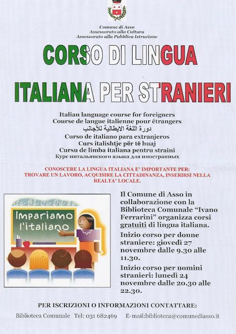 Impariamo la lingua del paese che ci ospita.. vivremo in armonia con gli abitanti e meglio con i ns