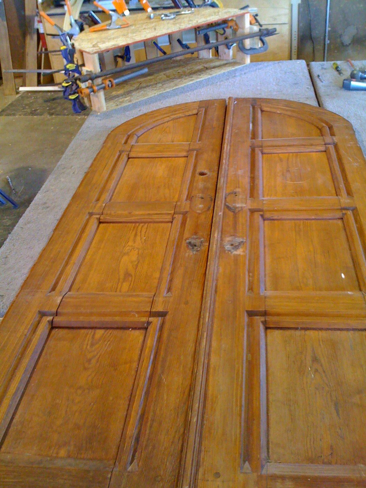 Radius doorjamb for antique doors & Build Something!: Radius doorjamb for antique doors
