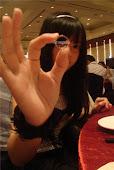 A lovely RING from my Baobei. =D