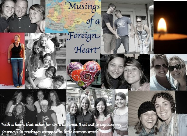 musings of a foreign heart
