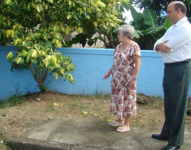 Vereador Saulo Peres na comunidade da Vila Capri