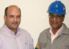 VEREADOR SAULO PERES E MARCELINO PETROLEIRO