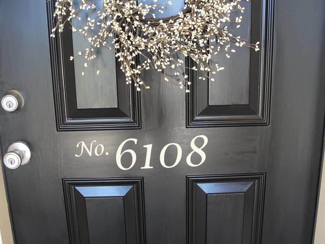 Front Door House Numbers 33% Off Today Only