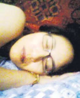 Elizabeth Wong asleep