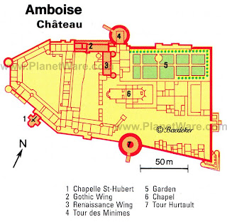 Château d'Amboise (Замок Амбуаз) - замки Луары, Франция