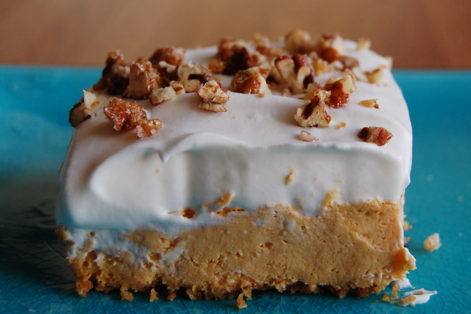 Grandma's Desserts: Pumpkin Cheesecake Bars