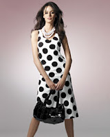 NPN-Bias-Cut Polka Dot Tank Dress