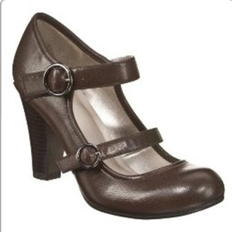 Xhilaration Stasya Mary Jane Pumps Brown