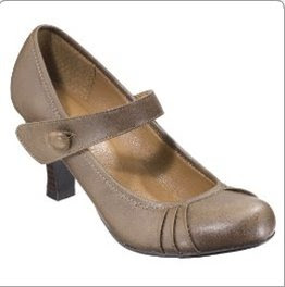 Xhilaration Sydney Mary Jane Pumps Brown