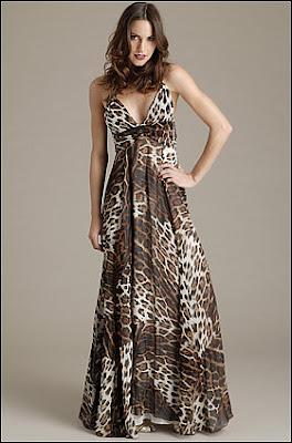 Roberto Cavalli. Leopard Print Dress