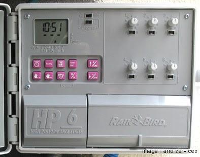 Arro services programmateur d 39 arrosage hp6 - Programmateur rain bird ...