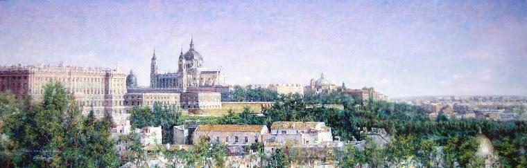 Madrid desde el Templo de Deboh