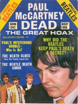 The Magazine that first said Paul was Dead