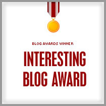 INTERESTING BLOG AWARD