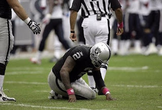 NFL Draft Bust Jamarcus Russell released by Raiders