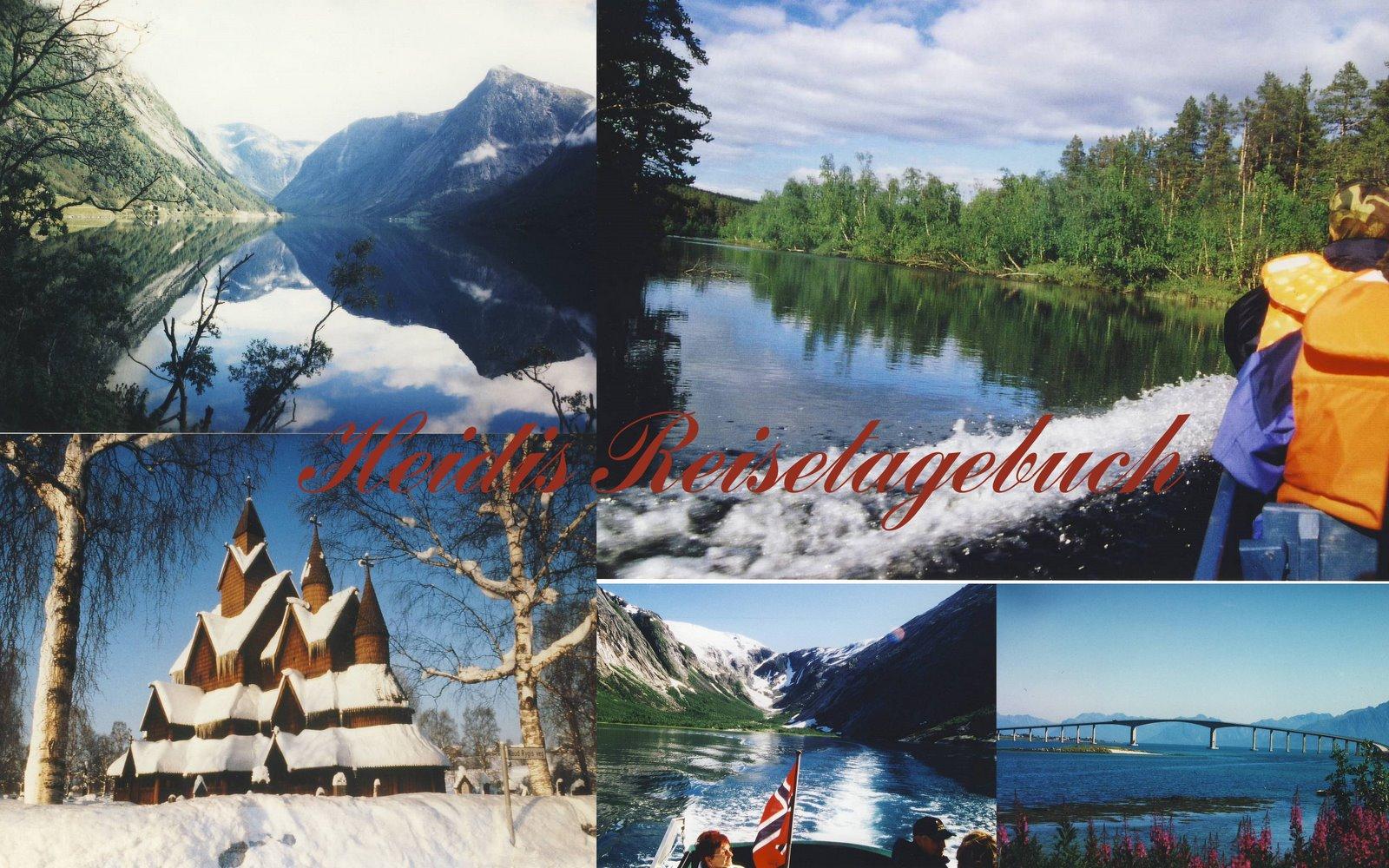 Heidis Reisetagebücher