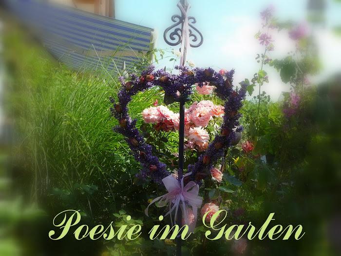 Poesie im Garten