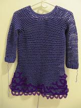 Teabeans Crochet Sweater Dress