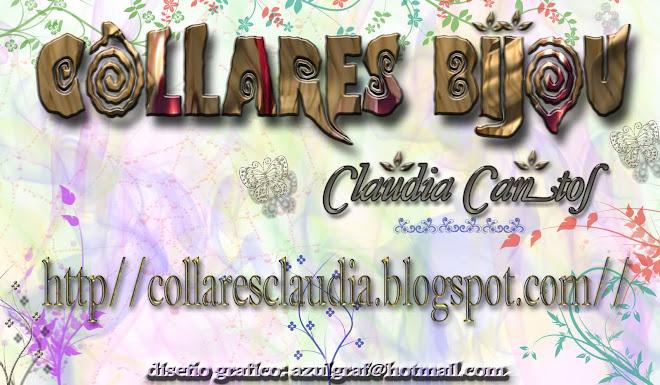 COLLARES BIJOU CLAUDIA CANTOS