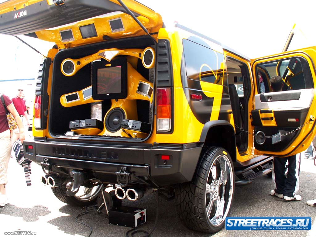 Hummer music cars wallpapers