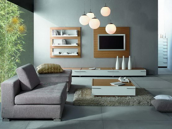 Contemporary living room for living room décor