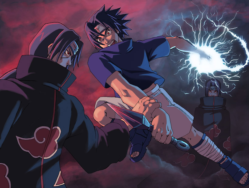 Sasuke Vs Itachi Wallpaper