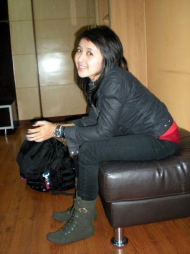 Foto Chua Bassist Kotak Band Artis mulus Indo