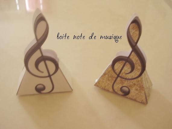 boite note de musique