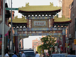 Friendship Gate at the entrance to Chinatown