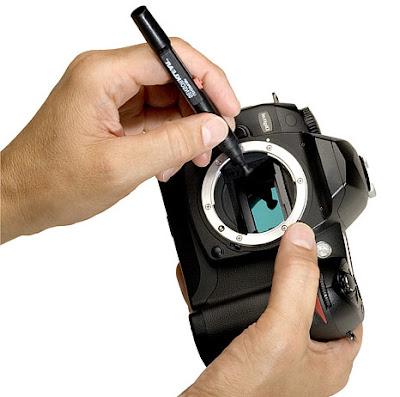 A Clean Image Sensor, Cleaning Sensor