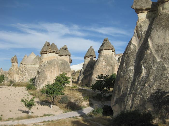 Capadocia, las chimeneas de las hadas