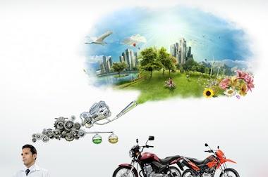 Motos na onda da sustentabilidade