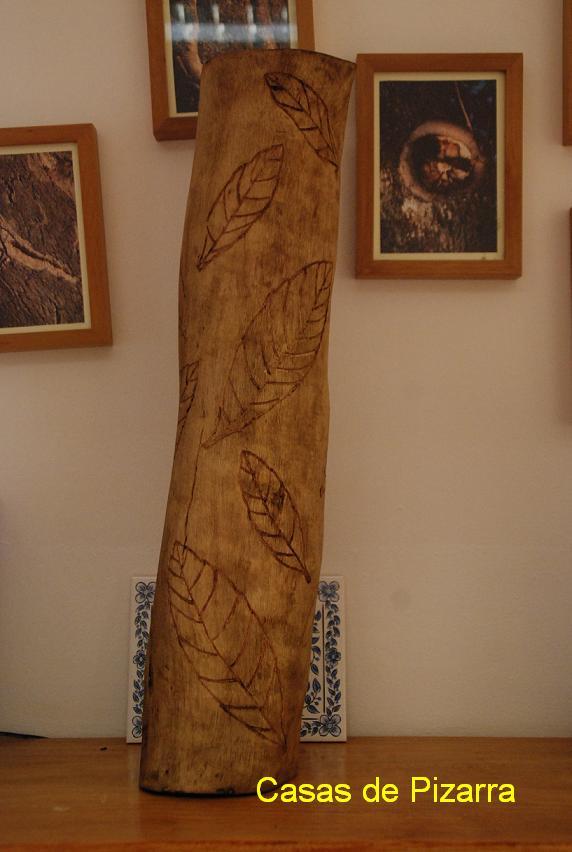 Casas de pizarra troncos y raices - Cortar pizarra en casa ...