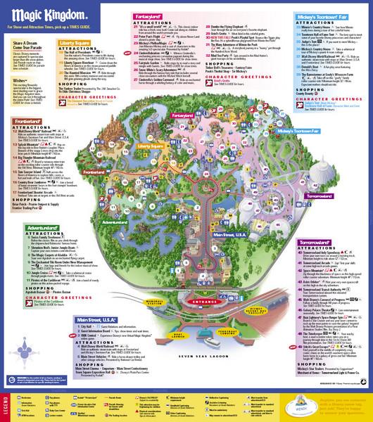 walt disney world map of resorts. Disney World Resorts in